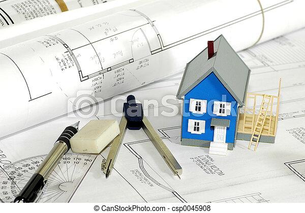 hjem, bygmester, 4 - csp0045908