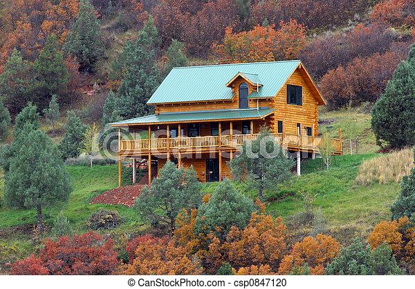 hjem, ferie - csp0847120
