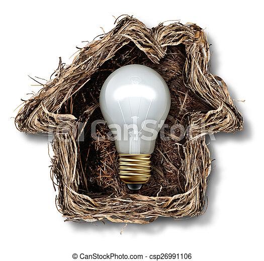 hjem, ideer - csp26991106