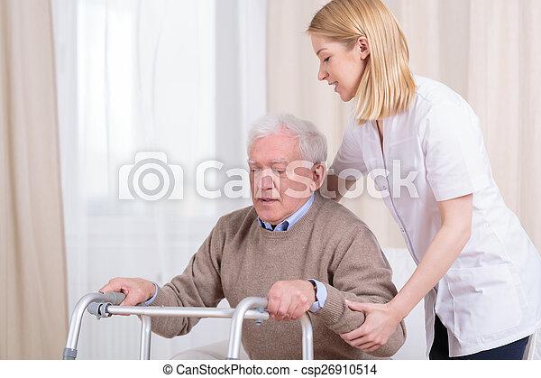 hjem, sygepleje, rehabilitering - csp26910514