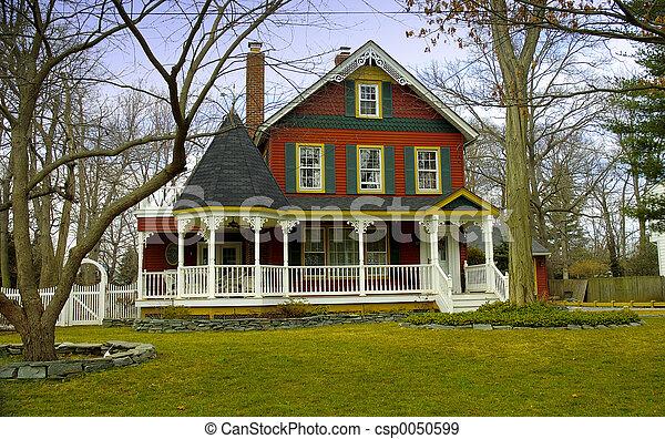 hjem, victoriansk - csp0050599