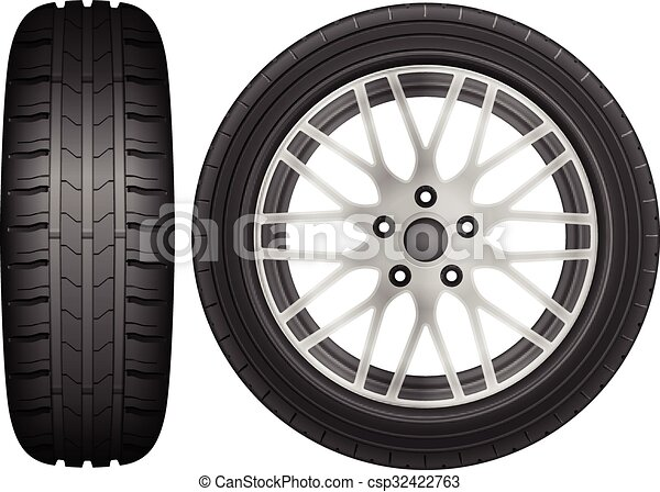 hjul och däck