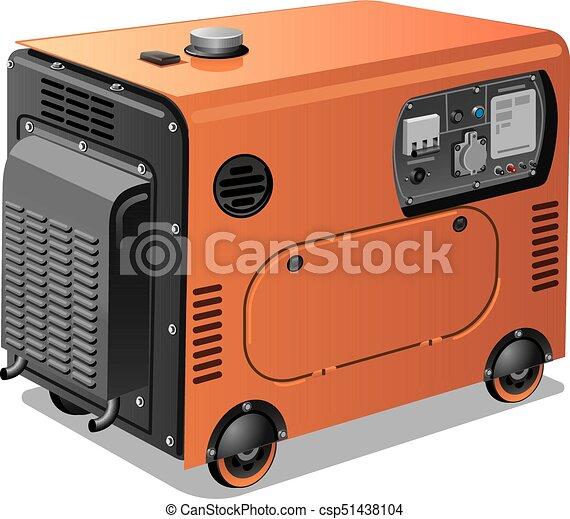 hjul, generatorer, magt - csp51438104