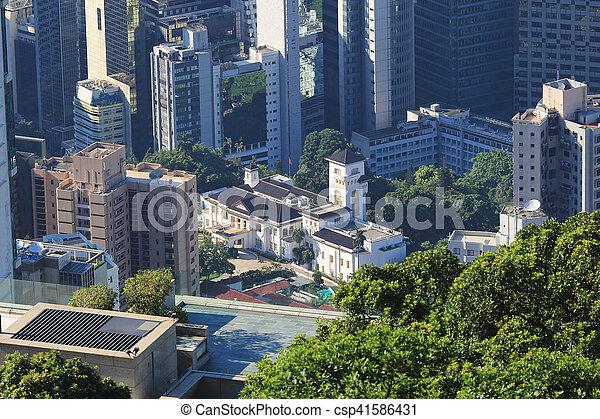 hk, 2016, 家, 政府 - csp41586431