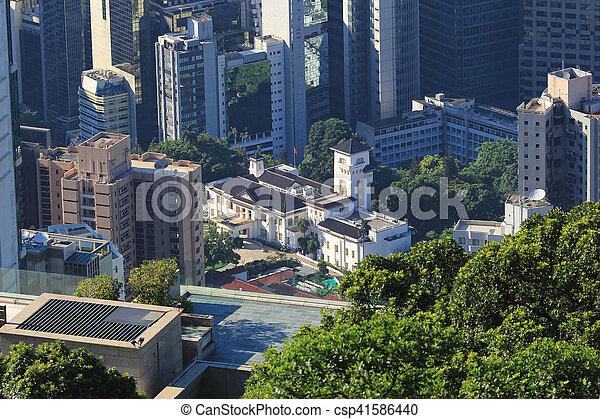 hk, 2016, 家, 政府 - csp41586440