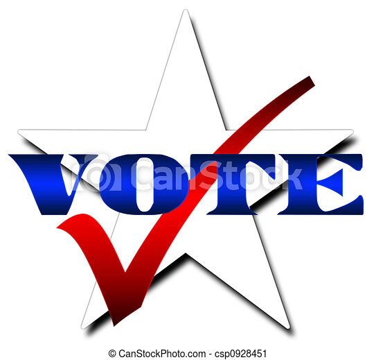 hlasovat, hvězda - csp0928451