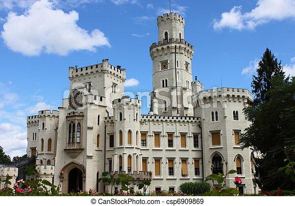 Hluboka castle - csp6909869