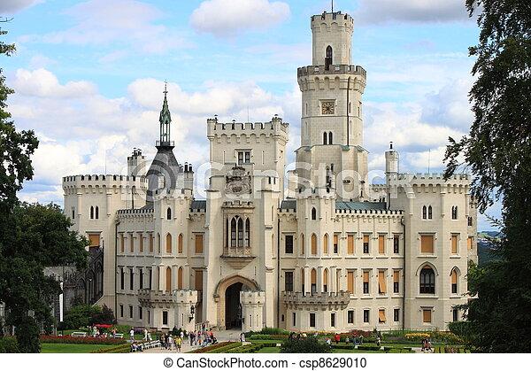 Hluboka castle - csp8629010