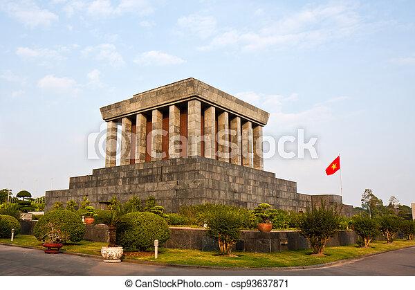 Ho Chi Minh Mausoleum - csp93637871