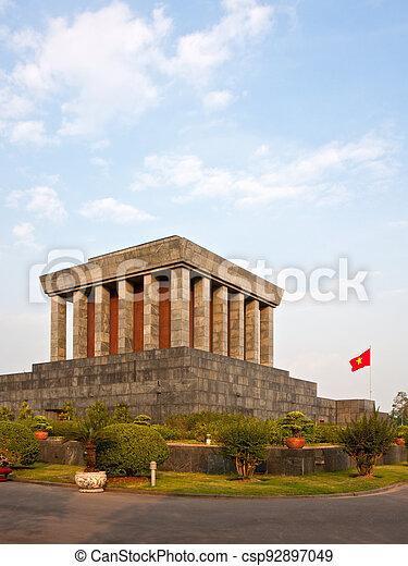 Ho Chi Minh Mausoleum - csp92897049