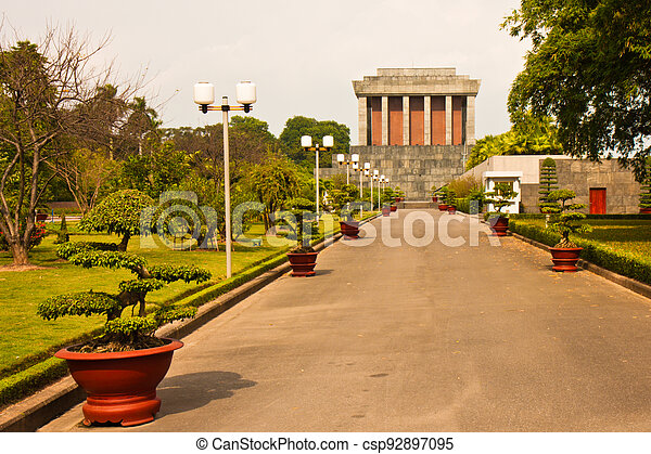 Ho Chi Minh Mausoleum - csp92897095