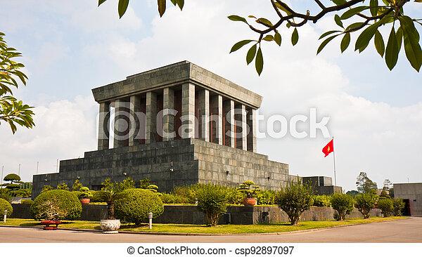 Ho Chi Minh Mausoleum - csp92897097