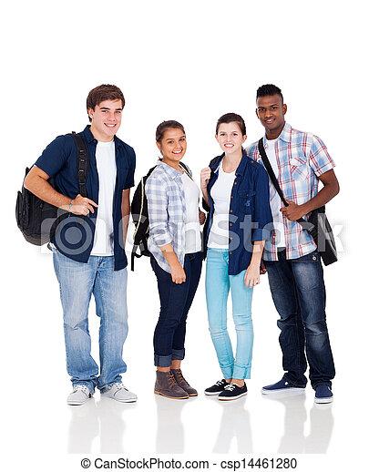 Schülergruppe - csp14461280