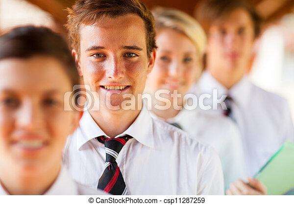 Schülergruppe Portrait - csp11287259