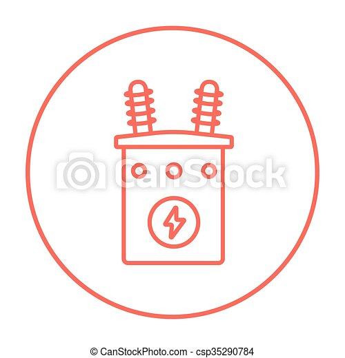 Transformator Clipart Vektor und Illustration. 5.248 Transformator ...