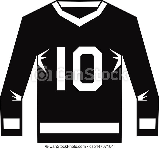 Hockey Jersey Icon Simple Style Hockey Jersey Icon Simple