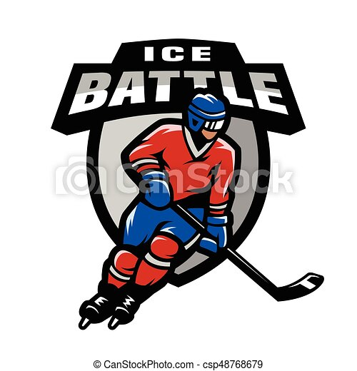 list of synonyms and antonyms of the word hockey player logo