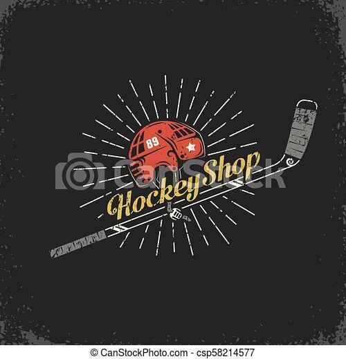 hockey shop - csp58214577