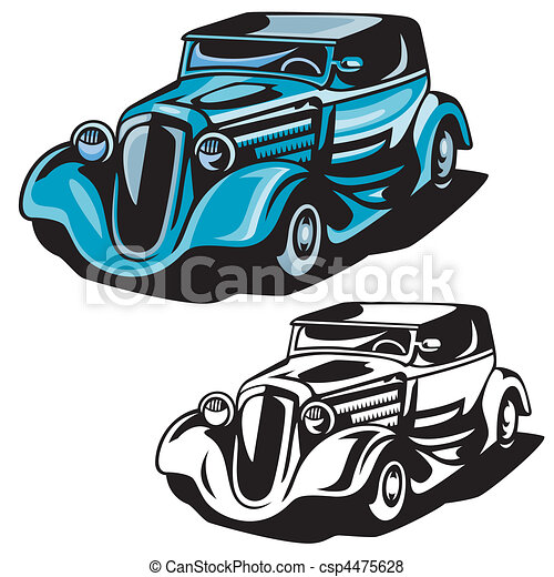 hod rod vector search clip art illustration drawings and eps rh canstockphoto co uk free clipart hot rod 60s Hot Rod Cartoons