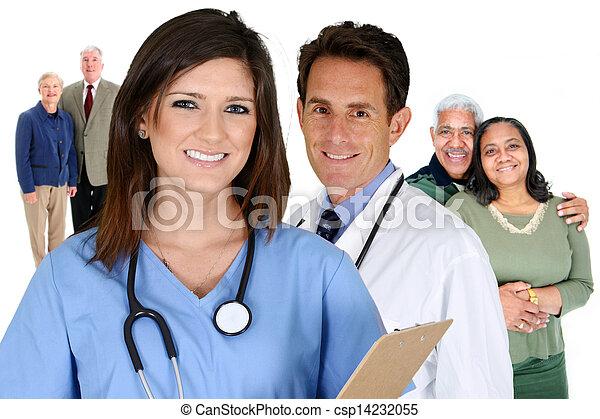 hogar, asistencia médica - csp14232055
