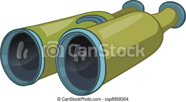 Hogar de cartón binocular misceláneo - csp8958304