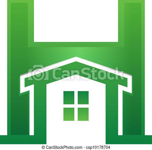 Casa en carta - csp10178704