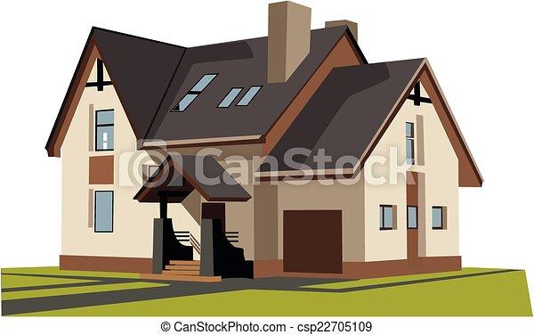 A casa - csp22705109