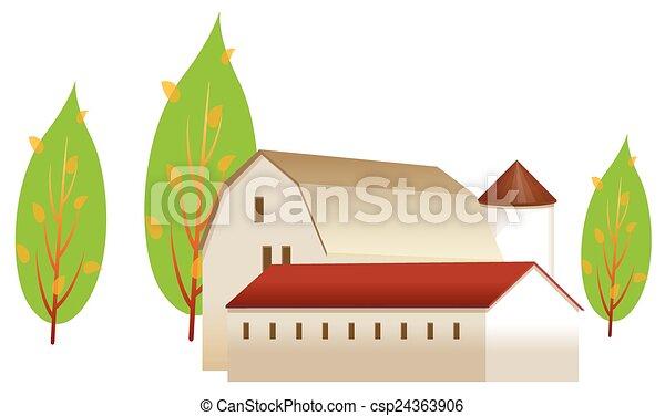 A casa - csp24363906