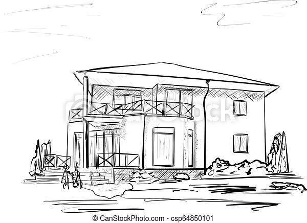 A casa - csp64850101