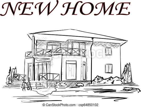 A casa - csp64850102
