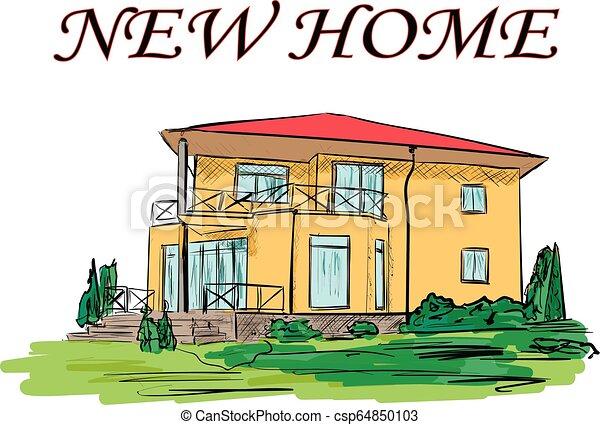 A casa - csp64850103