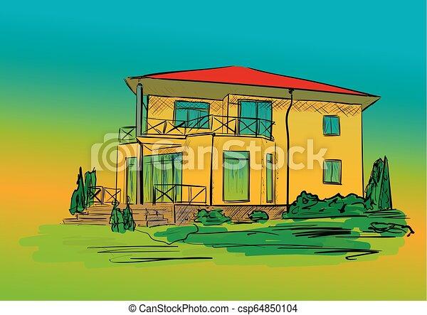 A casa - csp64850104