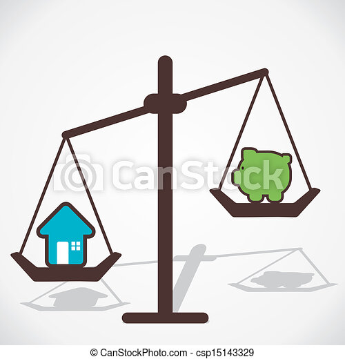hogar comparar vector precio dinero precio vector