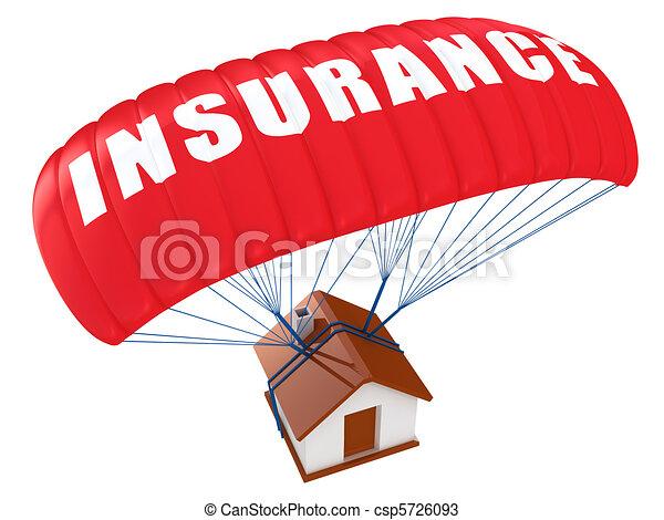 El concepto del seguro de casa - csp5726093