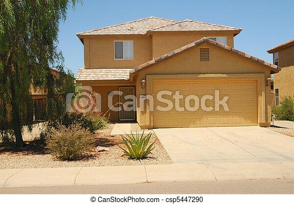 Casa del desierto - csp5447290