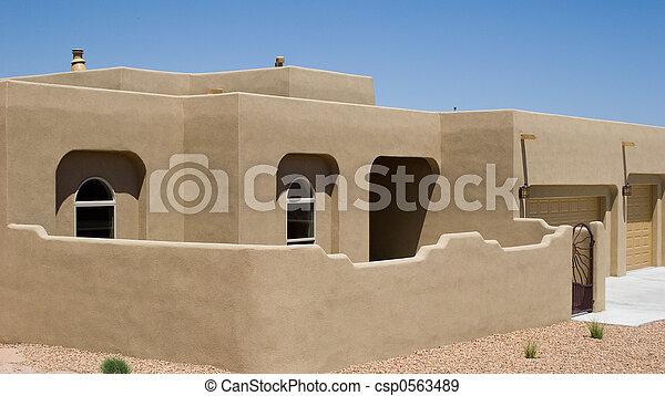 Casa del desierto - csp0563489
