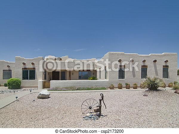 Casa del desierto del suroeste - csp2173200