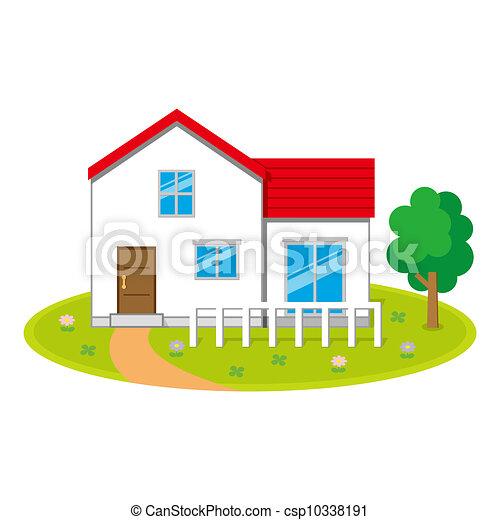 A casa - csp10338191