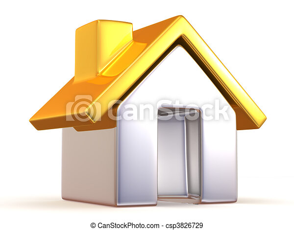 Casa - csp3826729