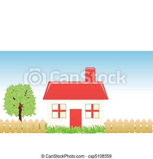 Hogar dulce hogar - csp5108359