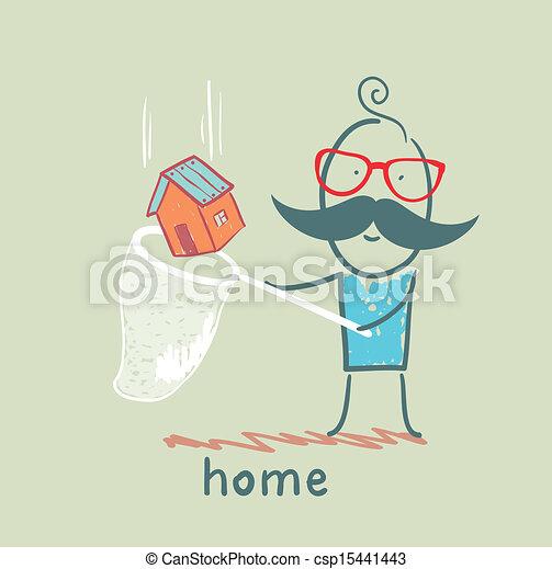 A casa - csp15441443