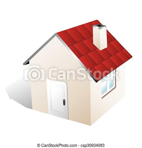 A casa - csp30934083