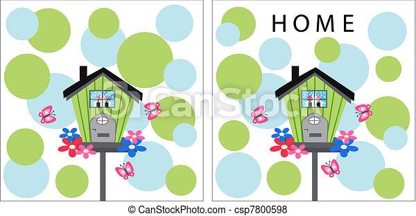 A casa - csp7800598