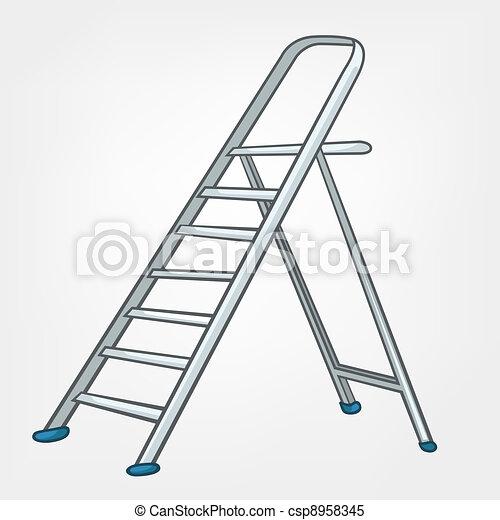 Una escalera miscelánea - csp8958345