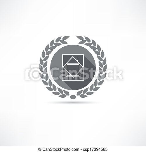 icono de casa - csp17394565