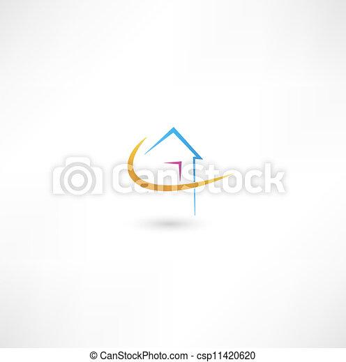 A casa - csp11420620