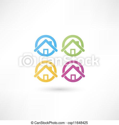 A casa - csp11648425