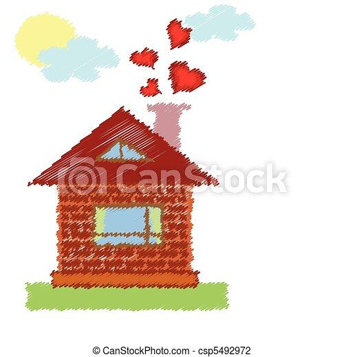 A casa - csp5492972