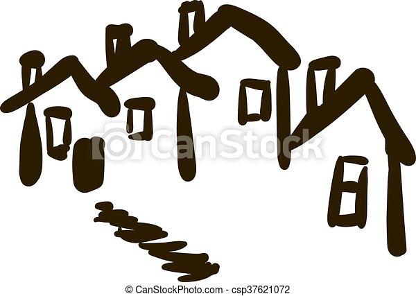 A casa - csp37621072