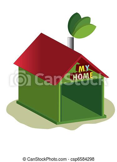 Mi casa - csp6584298